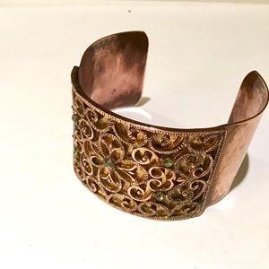 Jewelry - ❇️Vintage Copper and Brass Cuff Bracelet